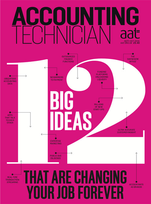 Magazine cover of Accounting Technician magazine