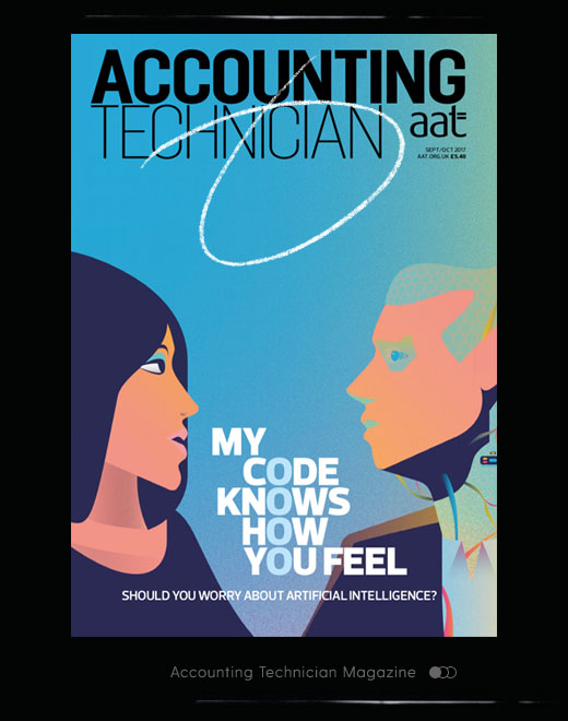 September cover of Accounting Technician magazine