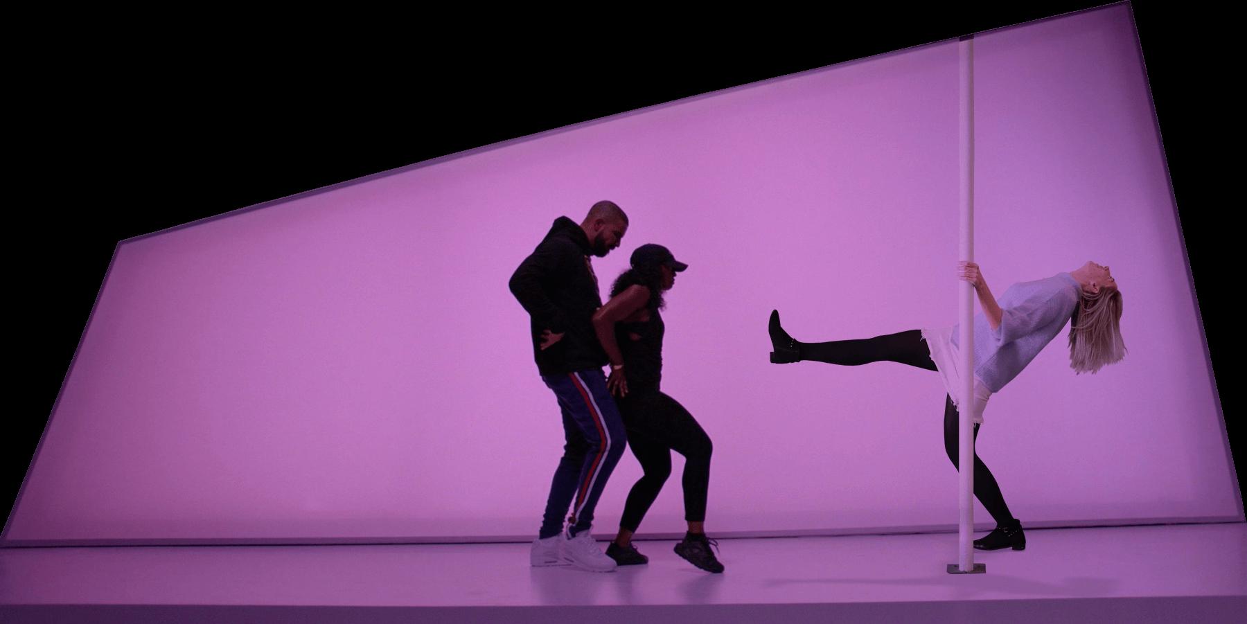 Dancing with Drake