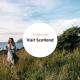 Portfolio cover Visit Scotland and Hostelworld campaign