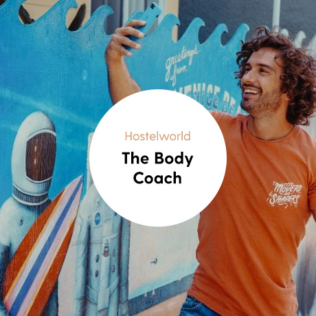 Portfolio cover The Body Coach campaign